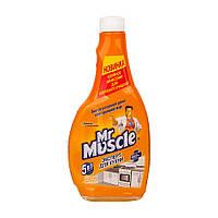 Мiстер Мускул 500 мл лимон без розпилювача миючий засіб для кухні  (863)