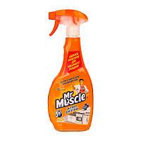 Мiстер Мускул 500 мл лимон з розпилювачем миючий засіб для кухні  (690)