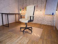 Ковер под кресло для защиты пола прозрачный 90х120см Чехия. Толщина 2,0мм