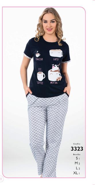 Пижамы женские с длинными брюками