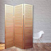 Ширма декоративная Деревянная 170х120см