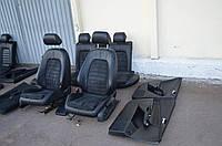 Кожаный салон VW Passat B6 (кожа, алькантара)
