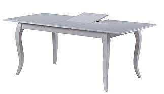 """Белый деревянный раскладной стол """"Калипсо"""" (белый)"""