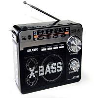 Радиоприемник ATLANFA радио от сети FM SW AM аккумуляторный R780
