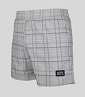 Мужские шорты Nike 4103 Светло-серые