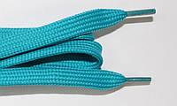 Шнурки плоские (чехол) 10мм. мор.волна