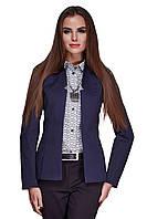 Пиджак женский GIOIA удлиненный синий