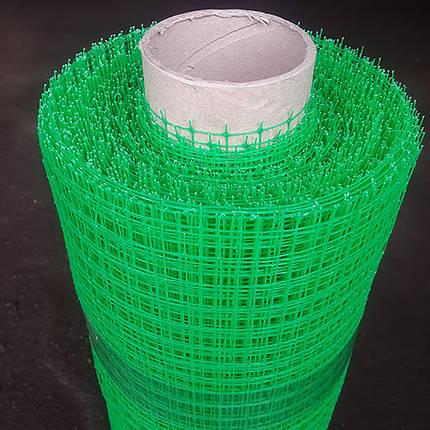 Сетка пластиковая для птиц 0,5*100м (30*35мм), фото 2