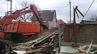Демонтаж ветхих строений. Демонтаж ветхих домов. Снос ветхих построек. Разрушение ветхих построек., фото 1