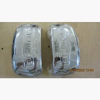 Накладки зеркал Fiat Doblo II 2005+ (2шт)