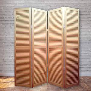 Ширма декоративная Деревянная 170х160см