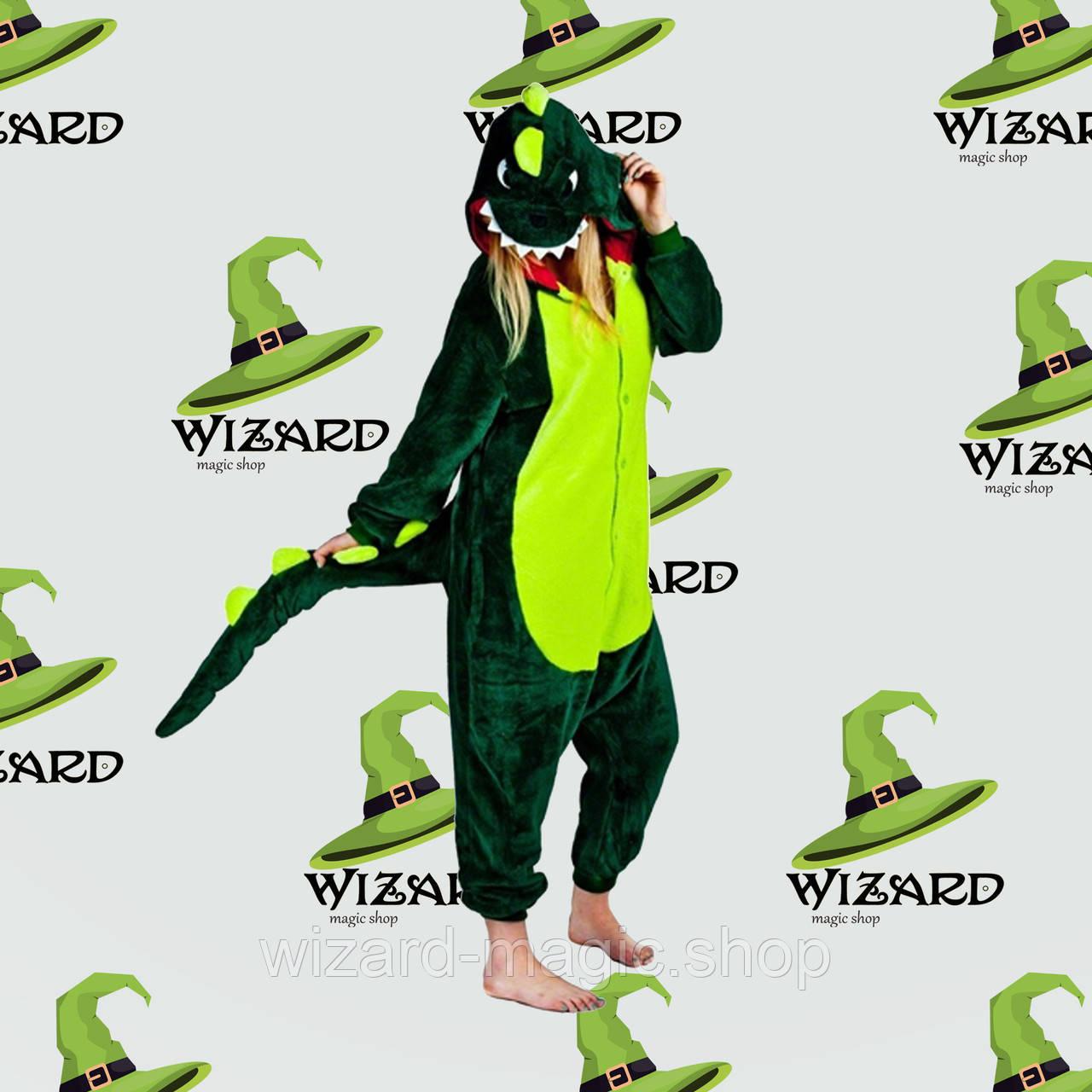 Кигуруми Динозавр (зеленый) L  продажа 7148bed77571b
