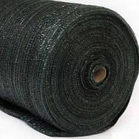 Сеть затеняющая 60% затенения, черная, плотность (толщина) г/м2 55, ширина 2метров, длинна 100 метров