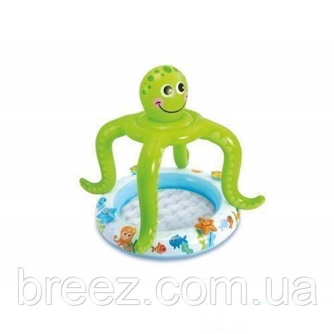 Детский надувной бассейн Intex 57115 Осьминог 102 х 104 см, фото 2