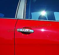 Накладки на дверные ручки Декор Omsa на Volkswagen Up 2011