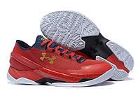 Червоні чоловічі кросівки Under Armour