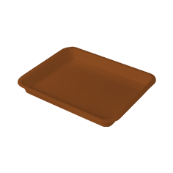 "Лоток для кухни ""M"" 310х240х32 мм шоколад"