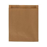 Одноразовий пакет паперовий 230*180*40, 40 г/м2, коричневий 1000 шт