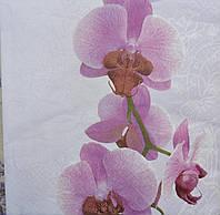 Салфетка для декупажа Орхидея