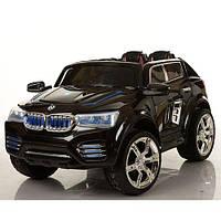 Детский электромобиль БМВ M 2392 EBR-2 на резиновых EVA колёсах, чёрный