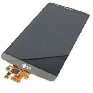 Дисплей с тачскрином LG D724, D725 G3s серый в рамке