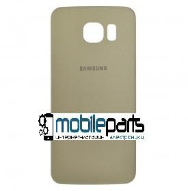 Задняя панель корпуса (крышка) для Samsung Galaxy S6 G920 (Качество ААА) (Золотая)