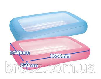 Детский надувной бассейн BestWay 51115 розовый 165 х 104 х 25 см, фото 2