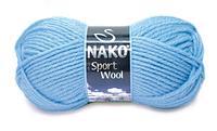 Пряжа Полушерстяная Nako Sport Wool 271 для Ручного Вязания