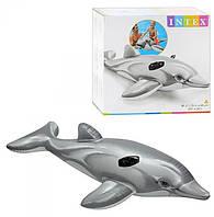 Дельфин 58535 надувной 175*66 см.