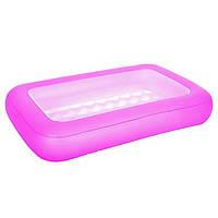 Детский надувной бассейн BestWay 51115 розовый 165 х 104 х 25 см, фото 1
