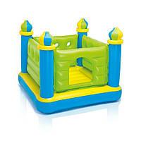 Детский надувной игровой центр-батут 48257, 132-132-107 см