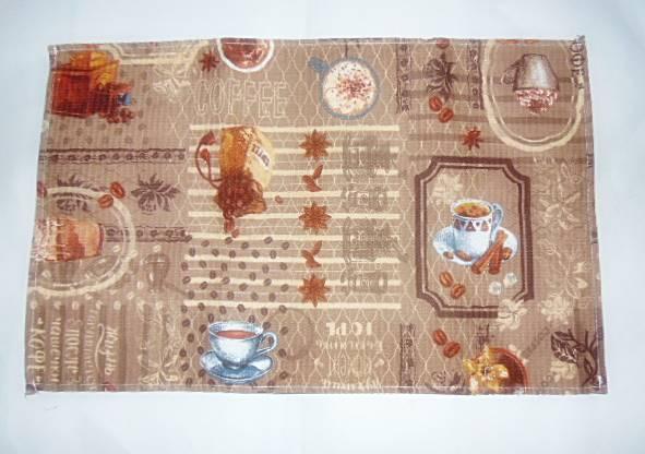 """Кухонное вафельное полотенце """"Coffee"""" 60х36см"""