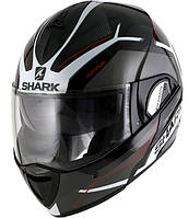 "Шлем SHARK EVOLINE 3 HATAUM black\white\red ""L"", арт. HE9340EKWR (шт.)"