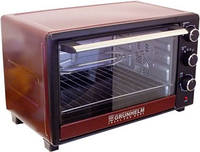 Электрическая печьс грилем и конвекцией Grunhelm GN33ARC (бордо, 33л, 1600 Вт)