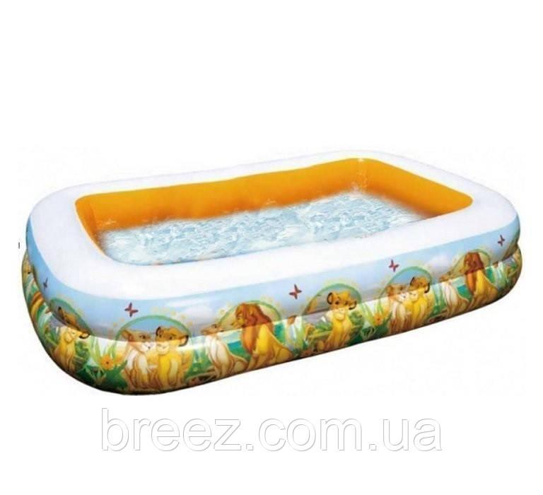 Детский надувной бассейн Intex 57492 Король Лев