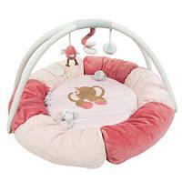 Nattou Развивающий коврик с дугами и подушками Шарлота и Рози 655231