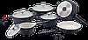 Набор кастрюль Royalty Line RL-ES1014C Black 16pcs