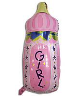 Воздушный шарик фольгированный Бутылочка с соской  80 х 45