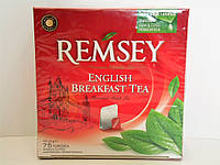 Чай черный REMSEY English Breakfast Tea 75 пакетиков