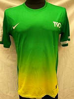 Футбольная форма взрослая Nike чистая зелено-желтая