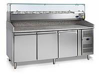 Стол холодильный для пиццы Tefcold PT 1300 под заказ