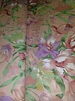 Ткань для наперников Цветы хлопок