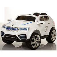 Детский электромобиль БМВ M 2392 EBR-1 на резиновых EVA колёсах, белый