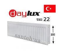 Радиатор Daylux класс 22  300x500   боковое  подключение