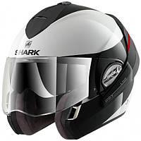 Шлем Shark EVOLINE 3 HAKKA black\white L HE9352EWKR