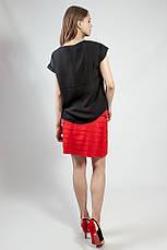 Юбка женская летняя короткая  красная  Rinascimento, фото 2