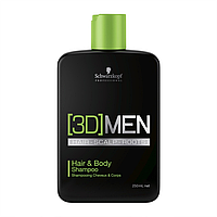 Шампунь для волос и тела SCHWARZKOPF 3D Mension Hair & Body Shampoo 250 мл