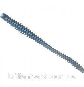 Силикон Nomura Glitter Rib Worm 120мм 3,5гр. цвет-009 (blue shiner back) 6шт