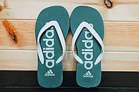 Мужские вьетнамки Adidas, шлёпки, тапки (адидас), фото 1