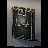 Карты игральные | Leonardo (Silver Edition) by Legends Playing Card Company - Trick
